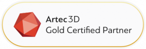 Artec3D Gold Certified Partner