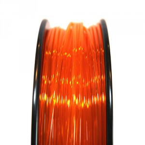 Orange Translucent PLA Innofil Filament front