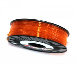 Orange Translucent PLA Innofil Filament top