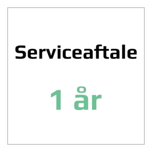 Serviceaftale 1år for en 3D printer