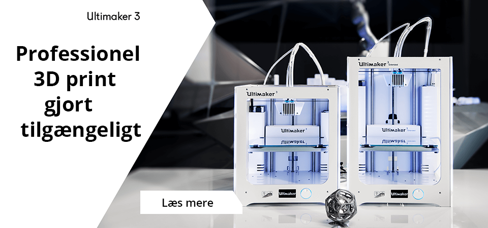 Ultimaker 3 banner launch